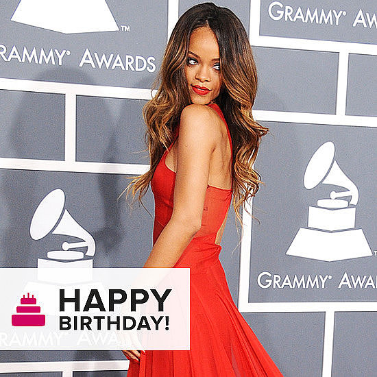 We wished a very happy 25th birthday to Rihanna!