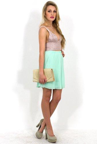 West Coast Wardrobe Commit Mint Skirt