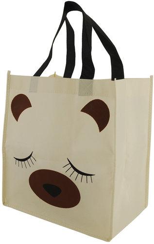 Essentials Sleeping Teddy Shopper's Tote