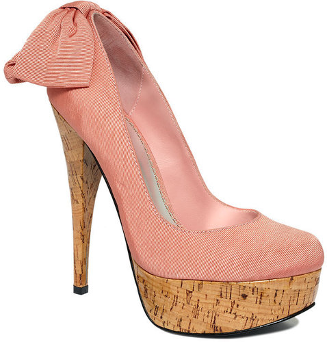 Bebe Shoes, Kahlilia Platform Pumps