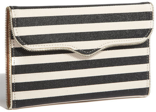 Rebecca Minkoff Stripe Passport Wallet