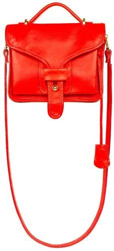 Opening Ceremony OC LA Mini Flap Bag | Red Leather