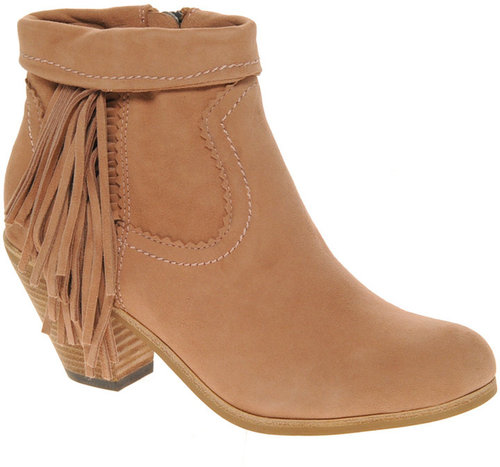 Sam Edelman Louie Fringed Ankle Boot