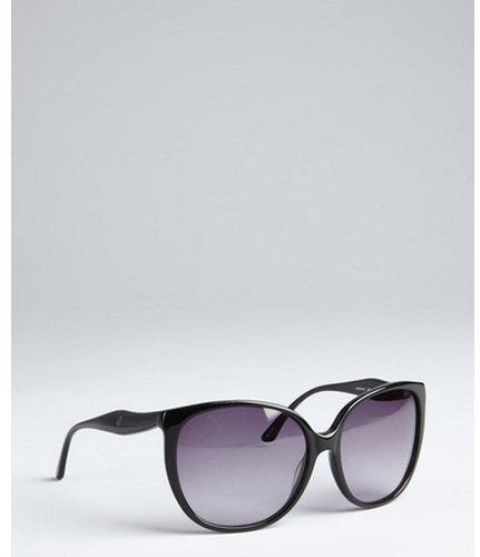 Kate Spade black 'Chantal' acrylic sunglasses