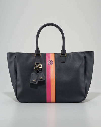 Tory Burch Roslyn Stripe Tote Bag