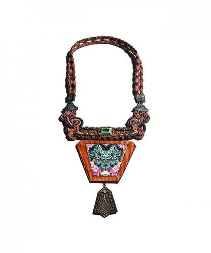 Proenza Schouler Iguana Cord Necklace