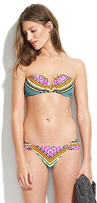 Mara hoffman® tiki v-wire bikini