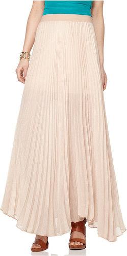BCBGMAXAZRIA Skirt, Estel Pleated Maxi