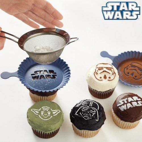 Star WarsTM Cupcake Stencil Set