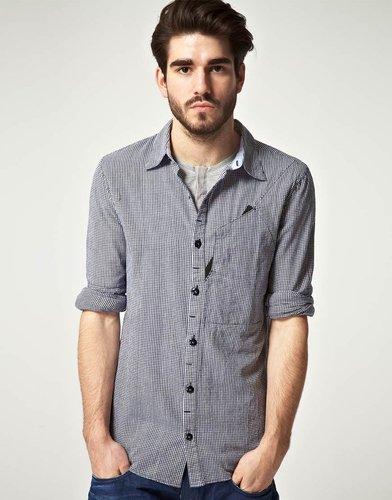 Denham Mallite Long Sleeve Shirt