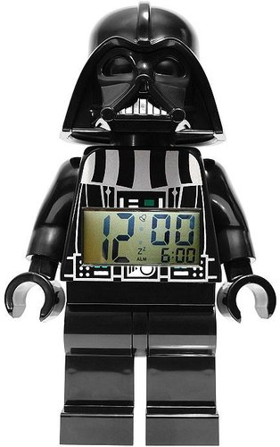 Lego star wars darth vader alarm clock