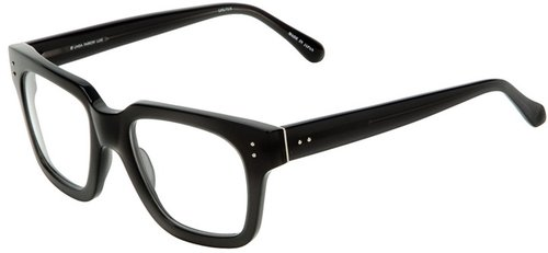 Linda Farrow Luxe Thick Rectanglular Optical Glasses