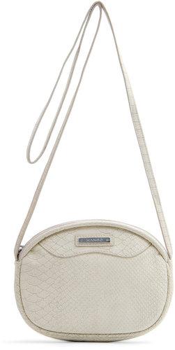 Round messenger handbag