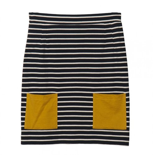 Chinti And Parker Breton Stripe Skirt