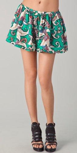 Thakoon Banded Full Shorts