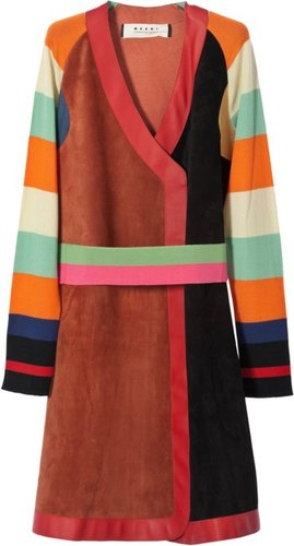 Leather duster coat  Marni