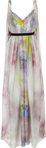 Matthew Williamson Multiccolored Silk Gown