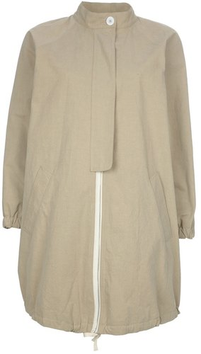 Band Of Outsiders waxed gabardine bubble jacket