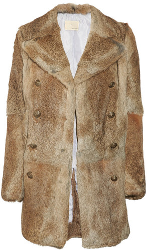 Boy. by Band of Outsiders Double-breasted rabbit coat