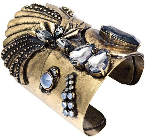 Bar III Bracelet, Gold Tone Cuff Bracelet