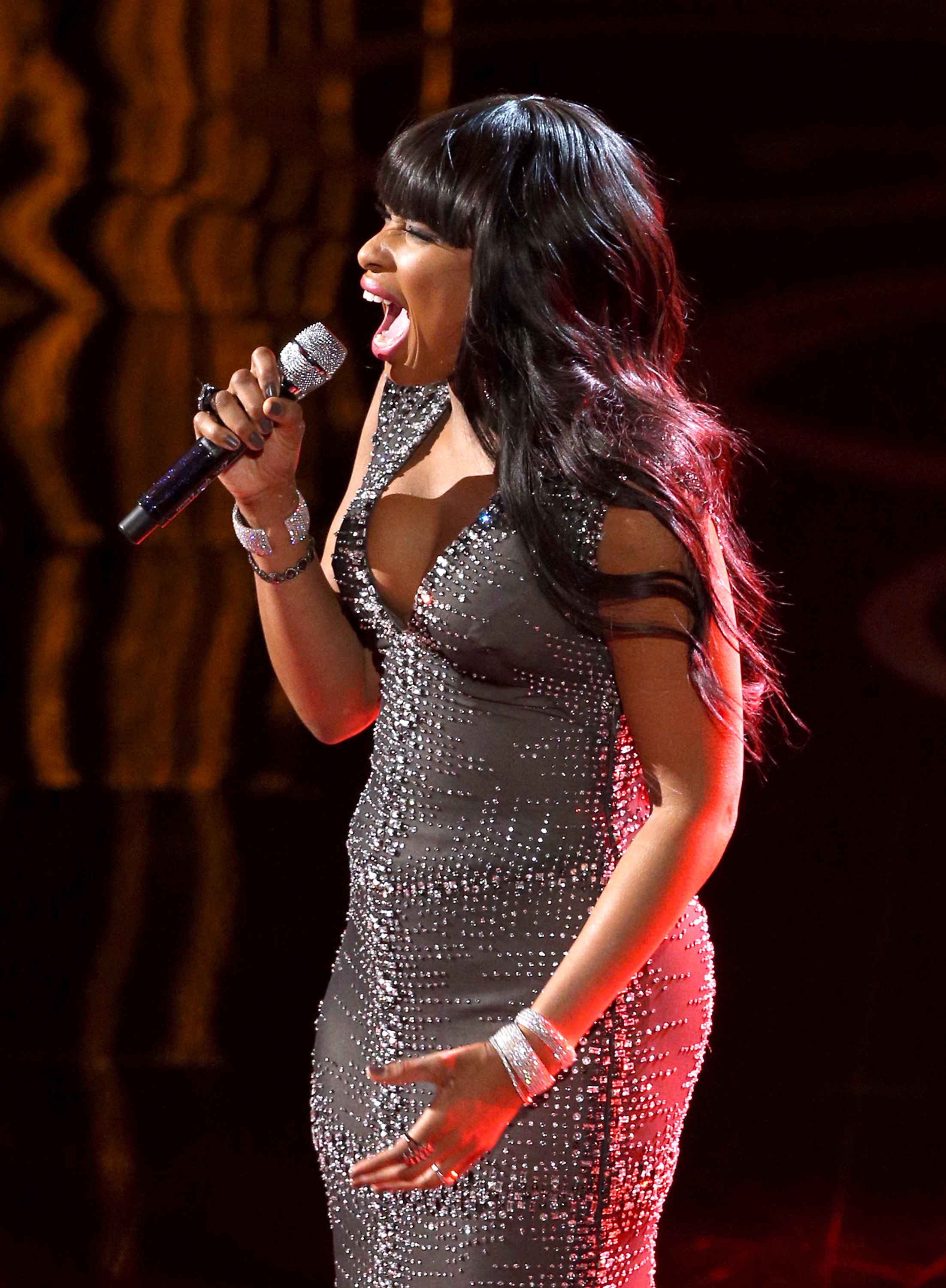 "Jennifer Hudson belted out ""And I Am Telling You I'm Not Going"" from Dreamgirls during the Oscars."