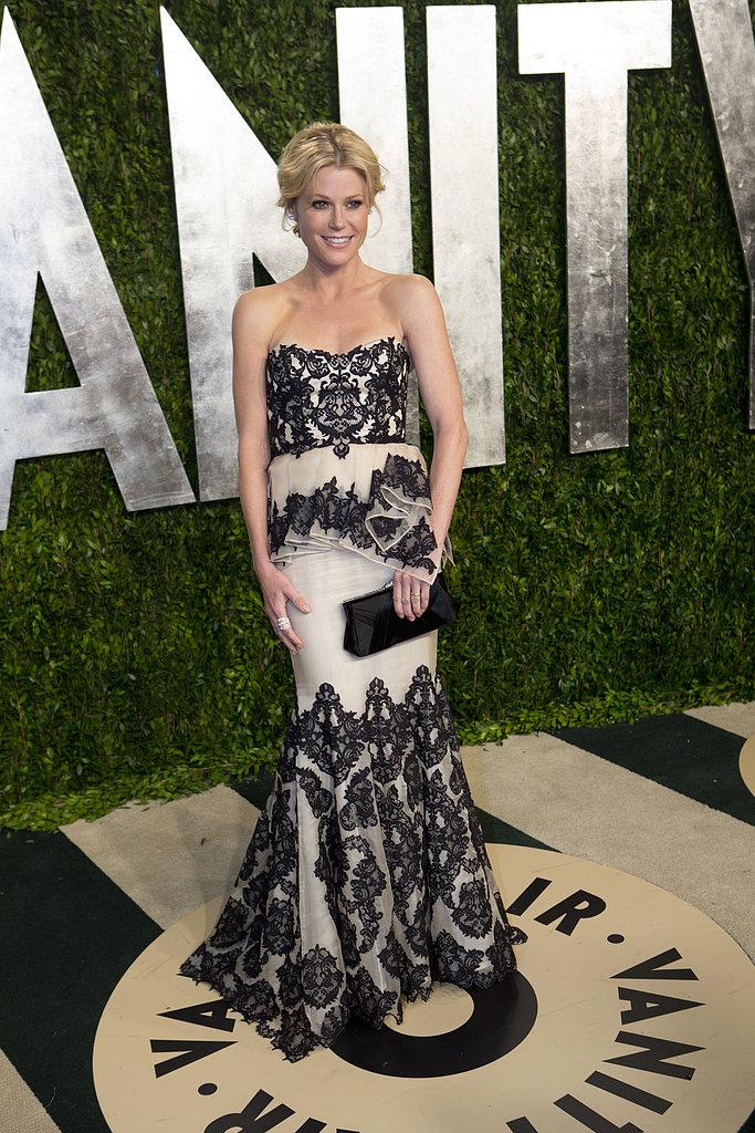 Julie Bowen arrived at the Vanity Fair Oscar party.