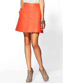 Marc by Marc Jacobs Jett Leather Skirt | Piperlime