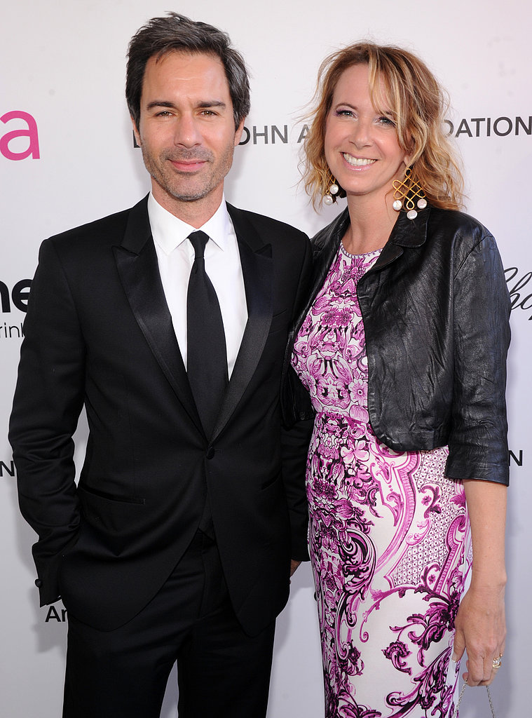 Eric McCormack and Janet Holden