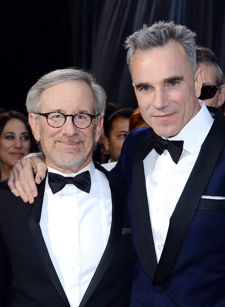 Steven Spielberg and Daniel Day-Lewis