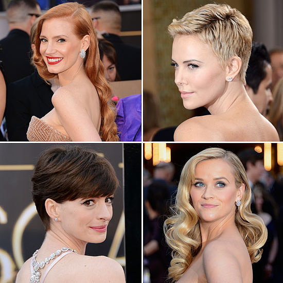 Who Had the Best Beauty Look at the 2013 Oscars