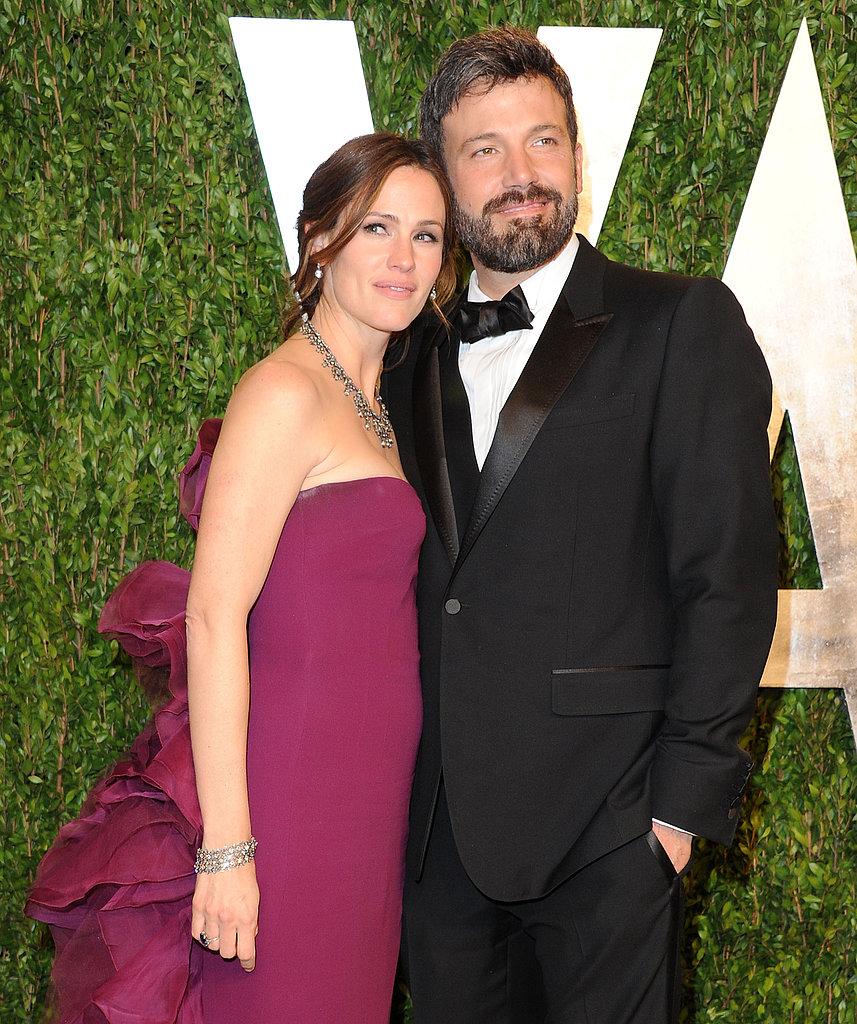 Ben Affleck and Jennifer Garner headed to the Vanity Fair Oscar party together.