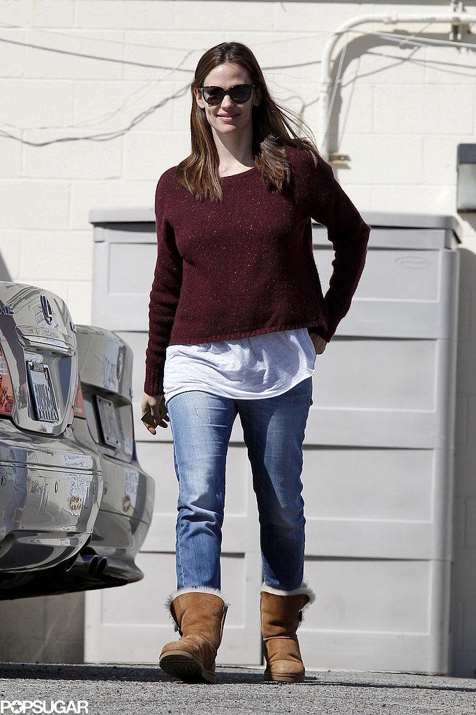 Jennifer Garner stepped out after her busy weekend.