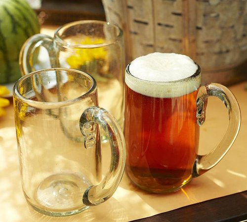 Casa Recycled Glass Beer Mug, Set of 6