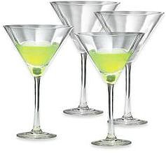 Block® by Mikasa® York Martini Glasses, Set of 4