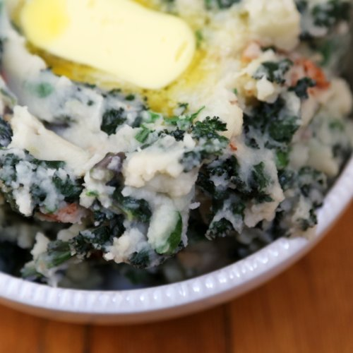 Colcannon With Kale and Pancetta