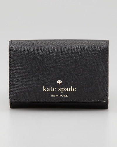 Kate Spade New York Mikas Pond Darla Small Key Wallet, Black