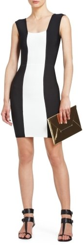 Erica Dixon's Black & White Sleeveless Dress