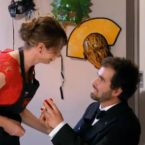 My Kitchen Rules 2013: Stefano Proposes to Lisa
