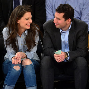 Katie Holmes Sitting Courtside at a Knicks Game | Pictures