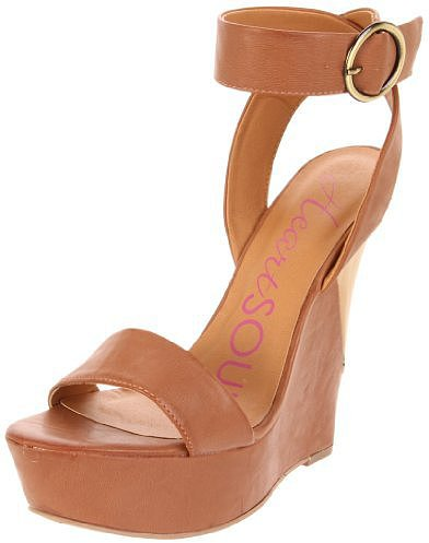Heart Soul Women's Gabriele Ankle-Strap Sandal