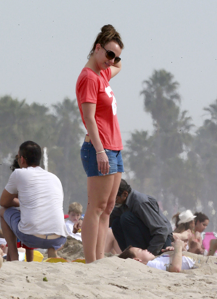 Britney Spears Celebrates Her Sister's Engagement With a Beach Day