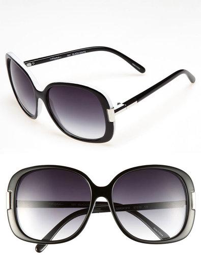 Halogen Oversized 57mm Sunglasses