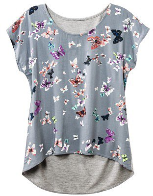 Mossimo Supply Co. Juniors High Low Dolman Sleeve Top - Assorted Colors and Patterns
