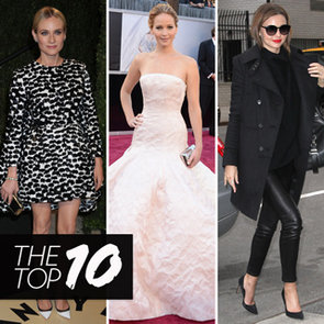 Best Dressed: Jennifer Lawrence, Miranda Kerr, Diane Kruger