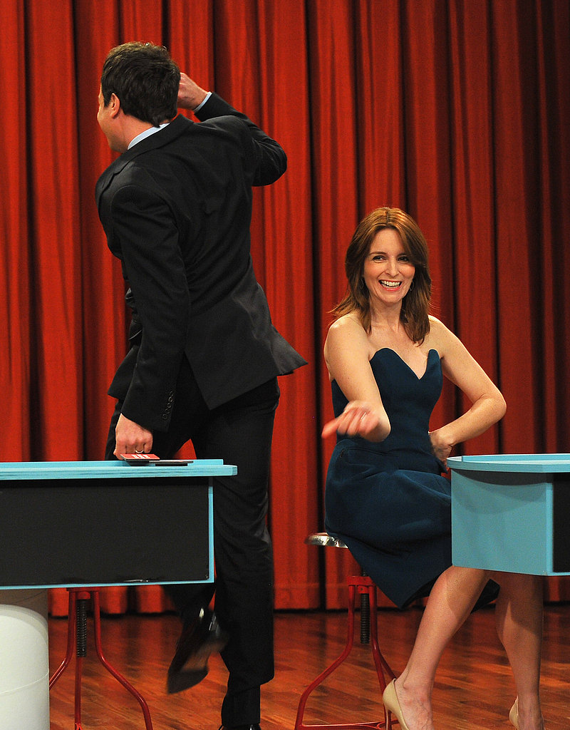 Tina Fey made an appearance on Late Night With Jimmy Fallon.