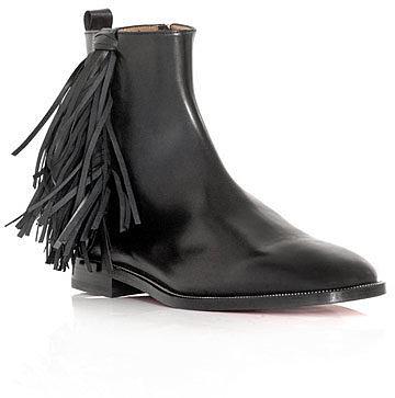 Christian Louboutin Jimmy flat ankle boots