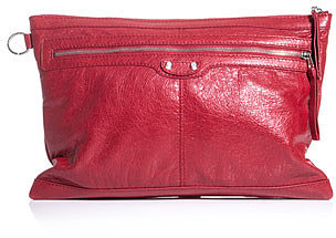 Balenciaga Leather document holder