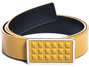 Balenciaga Studded buckle belt