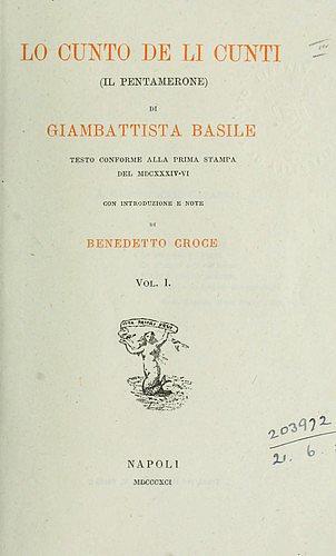Il Pentamerone, 1634-6