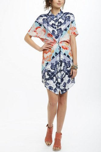 Hibiscus Bloom Shirtdress